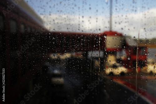 Fotografia, Obraz Noche lluviosa