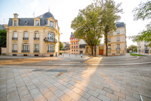 Street View In Reims City, Fra...