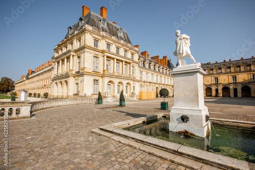 Foto op Plexiglas Historisch geb. Palace of Fontainebleau in France