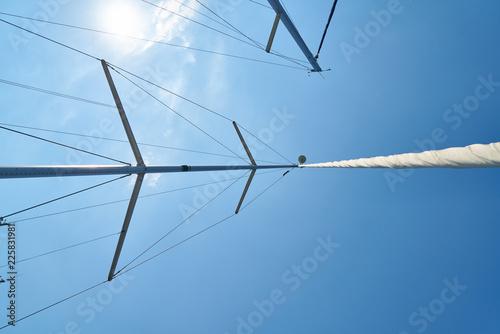 Fotografie, Obraz  Poles of sailboats