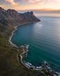 Cape Town coastline ocean