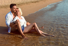 Beautiful Happy Couple In Love...
