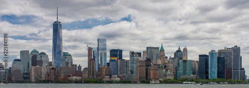 Photo Manhattan skyline, New York, USA, circa May 2015