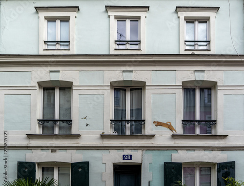 facade building of Paris