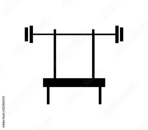 Fantastic Bench Press Icon Buy This Stock Vector And Explore Similar Alphanode Cool Chair Designs And Ideas Alphanodeonline
