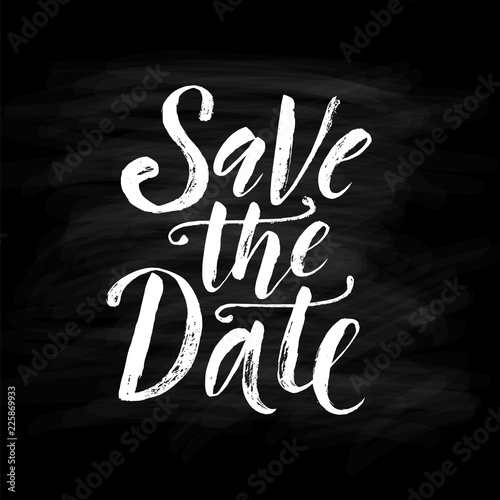 Save the date Canvas-taulu