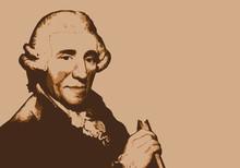 Portrait De Joseph Haydn, Cél...