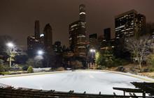 Ice Skating Rink, Central Park...