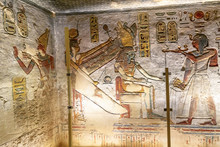 Hieroglyphs On A Wall In The V...