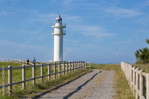 Foto op Aluminium Vuurtoren Lighthouse in Ajo, Cantabria