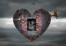 Metallic Heart In The Sky