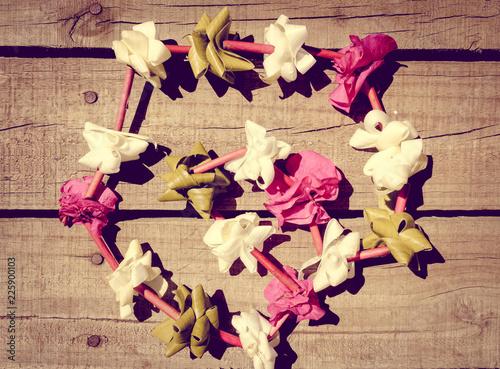 Deurstickers Centraal-Amerika Landen Polynesian flower necklace