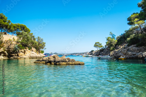 Fotografía Cala Fornells View in Paguera, Majorca, Spain