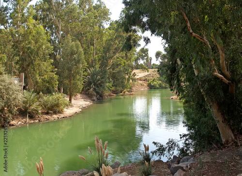 River bank Jordan