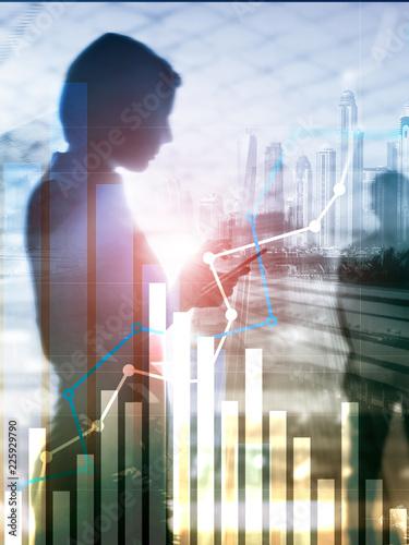 Fotomural Financial growth graph