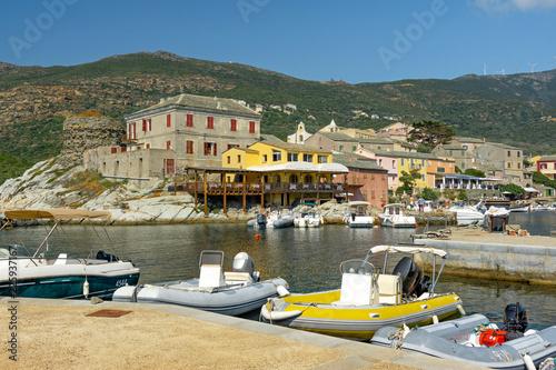 Foto op Aluminium Poort Centuri, port, Corse,