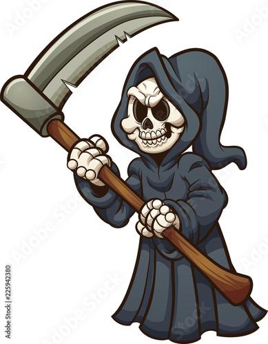 Fotografía Grim reaper with scythe