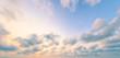 Leinwandbild Motiv World environment day concept: Dramatic sky and clouds autumn sunset background