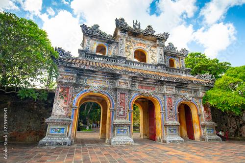 Foto op Plexiglas Historisch geb. Hue Imperial Citadel