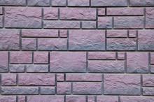 Stone Purple Wall Texture.