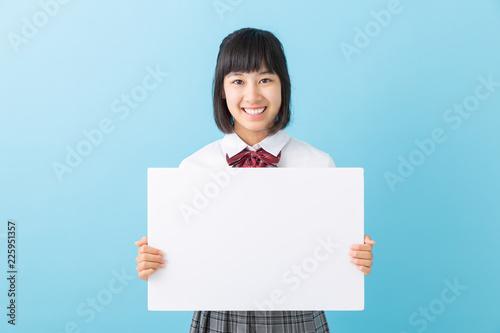 Fotografía  女子学生 ホワイトボード