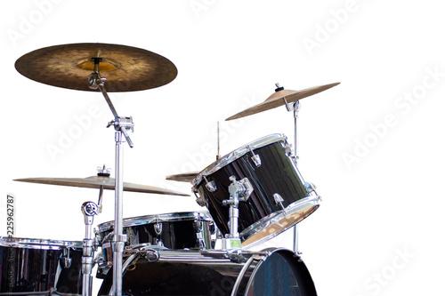 Stampa su Tela drum isolated