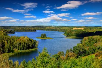 Panel Szklany Podświetlane Krajobraz Mazury-Stare Juchy