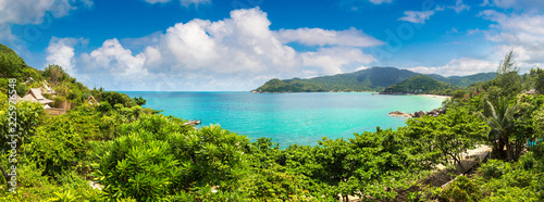 Spoed Foto op Canvas Nieuw Zeeland Beach on Koh Phangan island, Thailand