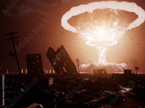 Photo nuclear explosion