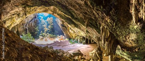 Royal pavilion in Phraya Nakorn cave Poster Mural XXL