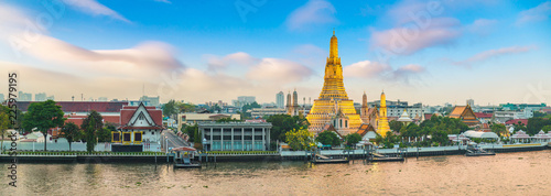 Photo Wat Arun Temple in Bangkok