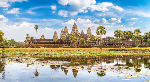 Foto op Canvas Asia land Angkor Wat temple in Cambodia