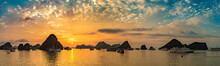 Sunset In Halon Bay, Vietnam
