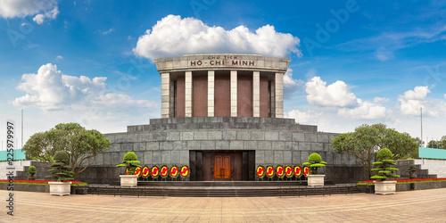 Fotografie, Obraz Ho Chi Minh Mausoleum in Hanoi, Vietnam