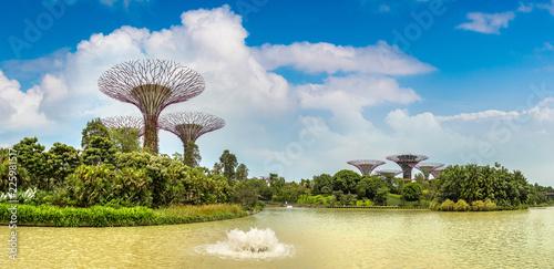 Fotobehang Aziatische Plekken Gardens by the Bay in Singapore