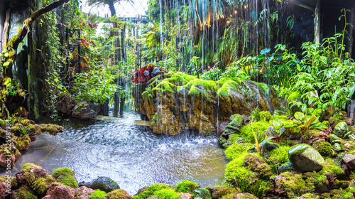 Canvas Prints Asian Famous Place Cloud Forest Dome in Singapore
