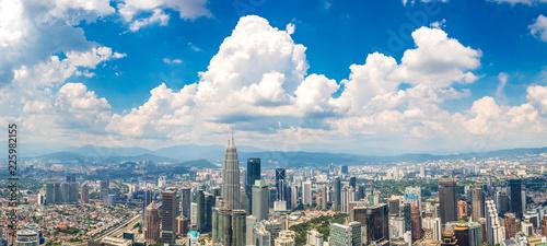 Canvas Prints Kuala Lumpur Panoramic view of Kuala Lumpur