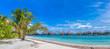 Tropical beach in the Maldives