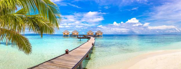 Obraz na Plexi Water Villas (Bungalows) in the Maldives