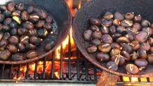 Chestnuts Roasted On Open Fire