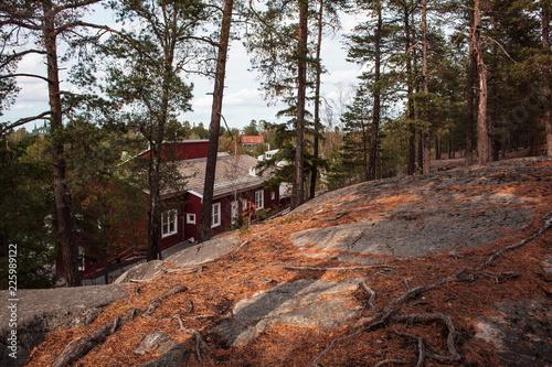 Photo  Stockholm,Lidingo nature view
