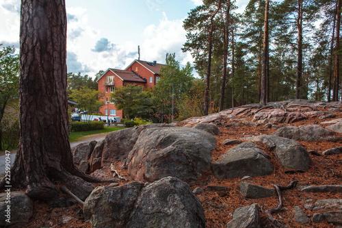 Photo  Stockholm,Lydingo nactural landscape