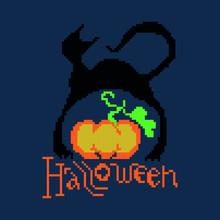 Halloween, Cat, Pumpkin Painte...