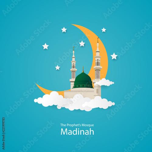 Fotografie, Obraz The Prophet Muhammad Mosque in Medina