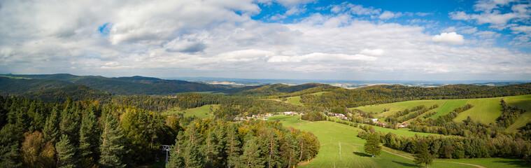 Bieszczady mountains at autumn, Podkarpackie, Poland