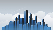 Metropolis - Urban Cityscape Vector Design