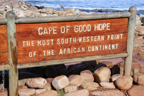 Fototapeta  Am Kap der Guten Hoffnung in Südafrika