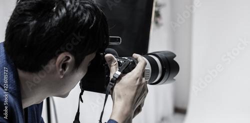 Obraz カメラマン - fototapety do salonu
