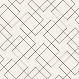 Vector seamless geometric pattern. Simple abstract lines lattice. Repeating elements stylish background - 226018798