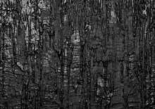 Wall With Black Flowing Paint,...